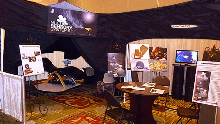 Multisensory Systems at ScentWorld Expo 2009