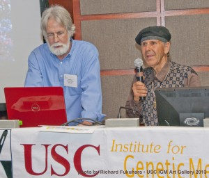 Multisensory Systems co-founders presenting their multisensory technology at USC forum