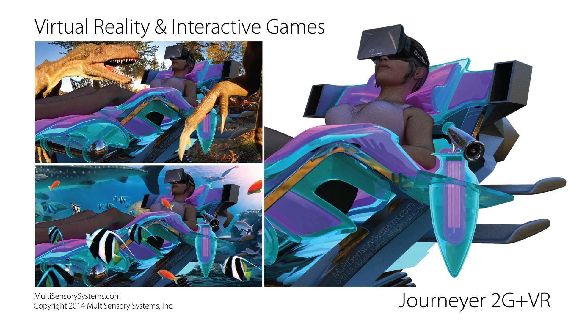 Virtual Reality & Interactive Games