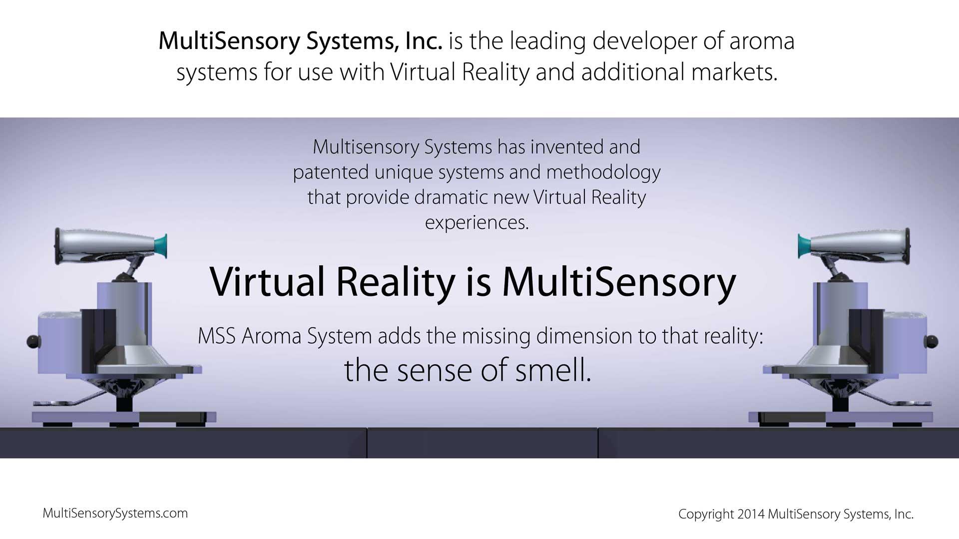 Virtual Reality is Multisensory